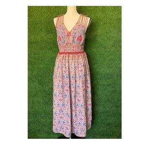 Anthropologie Rinna Gill Maxi Dress